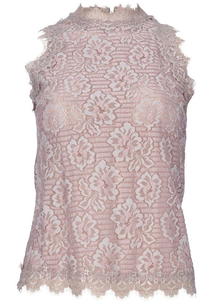 Gustav Blondetop 20642 Lace Top - 646 antique rose – Acorns