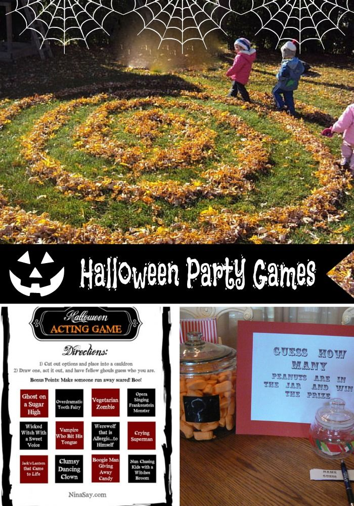 Halloween games halloween and halloween games for kids on for Halloween party games for preschoolers