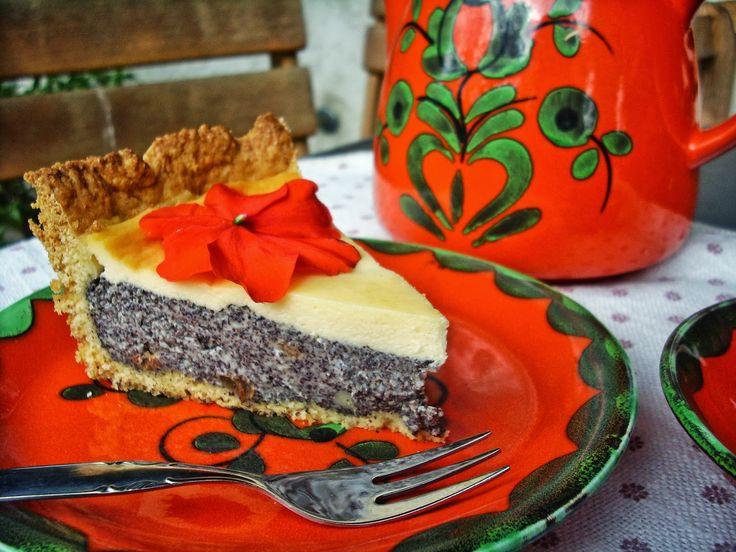 Poppyliscious!!!! Supersaftiger Mohnkuchen mit Rumrosinen und Schmandguss