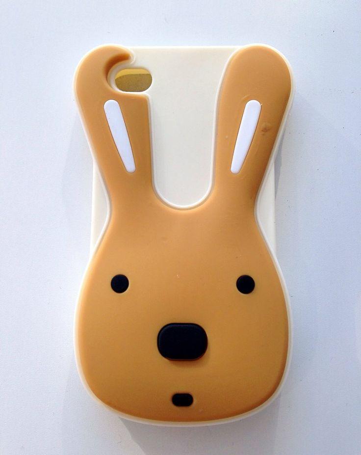 Carcasa silicona Conejo marron Iphone 5G/5S/5C a 5,95€ Envíos incluidos www.mcase.es