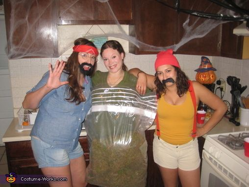 Bag of Weed - Halloween Costume Contest via @costumeworks