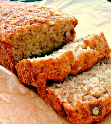 Moist Banana Bread. Great flavors and easy to follow instructions. And yummy of course! #cake #banana #baking