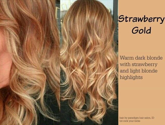 Best 25 red blonde highlights ideas on pinterest fall hair my hair is dark blonde and i have light blonde highlights rn i rly wish i had full strawberry blonde hair but im not allowed to dye my hair pmusecretfo Choice Image