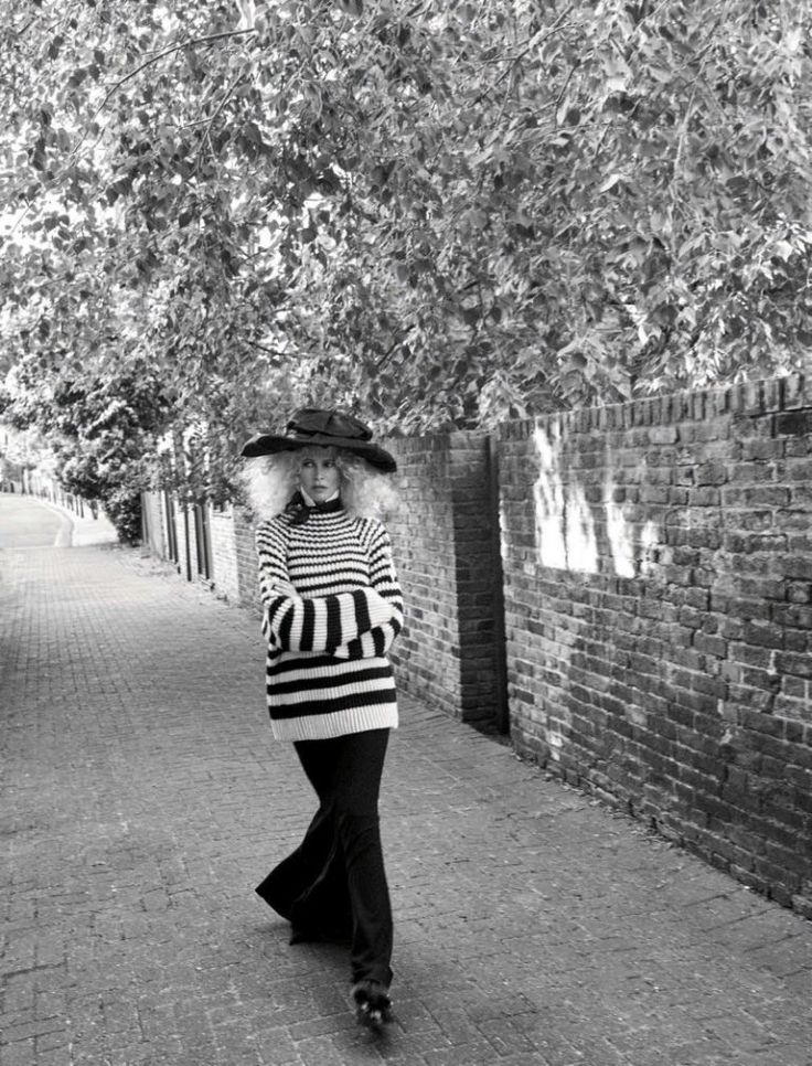 Клаудиа Шиффер в Vogue Germany (Интернет-журнал ETODAY)