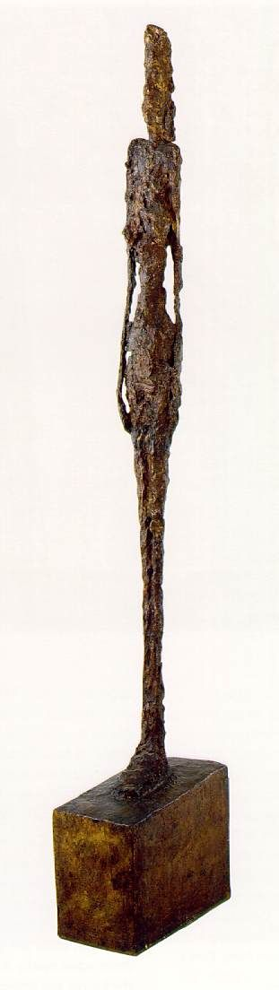 """Tall Figure"" - Diego Alberto Giacometti, c.1949."
