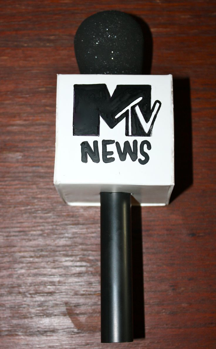 DIY mic Mtv News