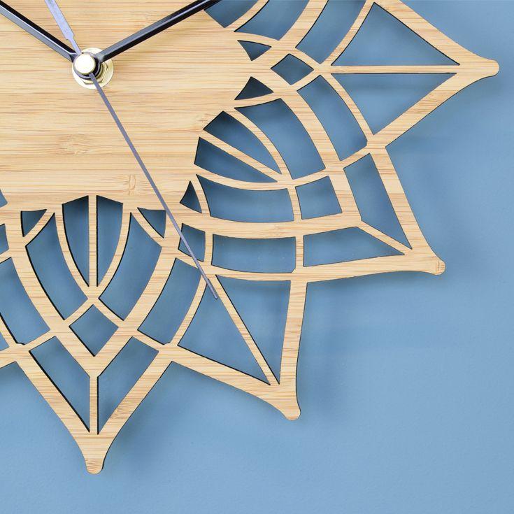 Minimalist Wall Clock £35 www.beamdesigns.co.uk