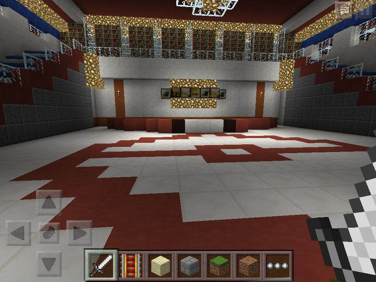 how to build a pokemon center in minecraft pe
