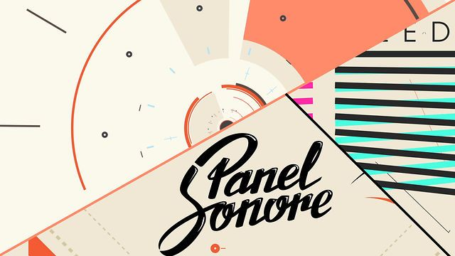 Panel Sonore Ident by Oscar Salas. http://www.panel-sonore.com/ #motiongraphics #design #video #motion