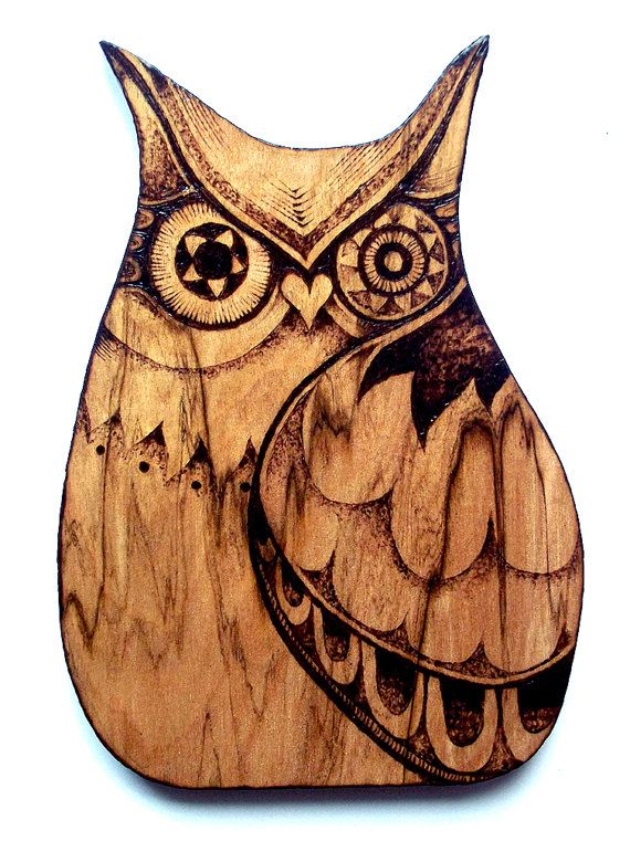 Owl Wall Decor, pyrography, wood burning, Owl Wall hanging, pyrography owl  art, owl gift, woodland decor, Owl decor, woodland