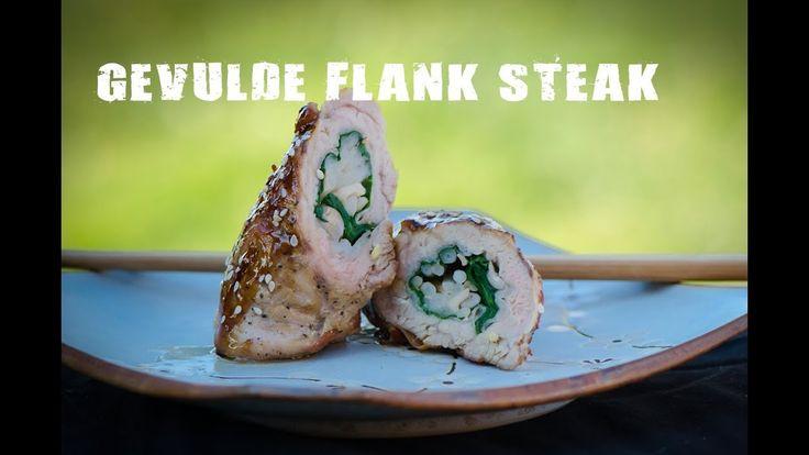 Gevulde flank steak | Fire&Food TV
