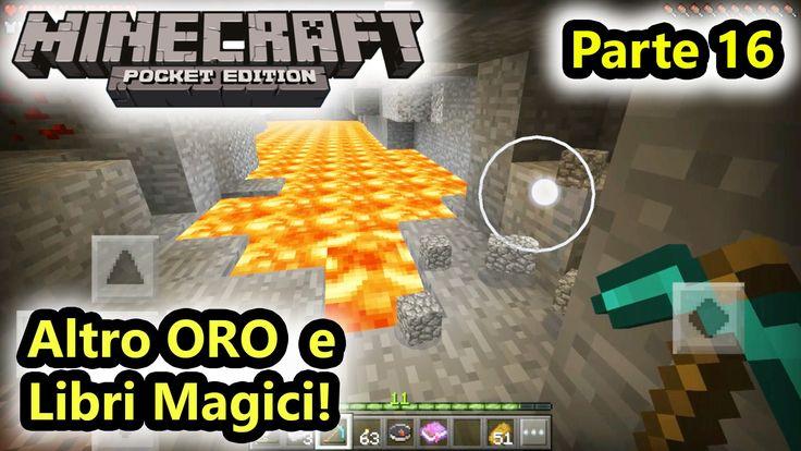 Minecraft PE - Altro ORO, Libri Magici e Ferro! - Android - (Salvo Pimpo's)