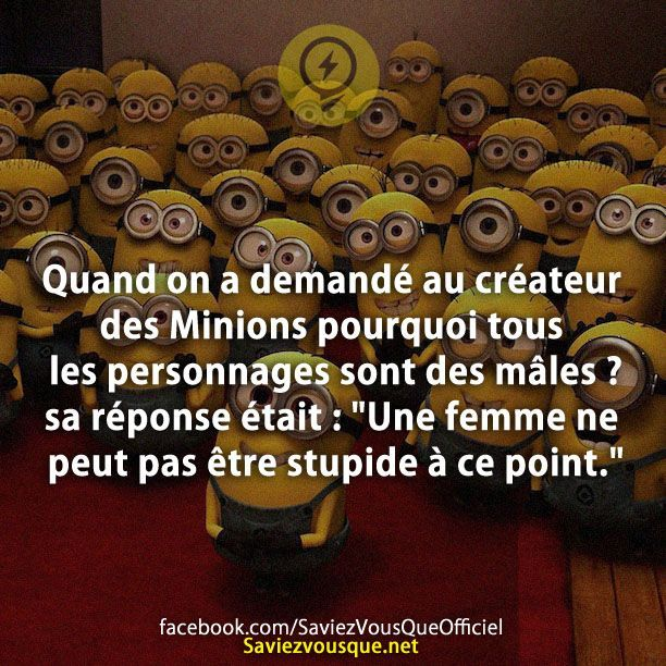les 25 meilleures id es de la cat gorie des citations des minions sur pinterest minions. Black Bedroom Furniture Sets. Home Design Ideas