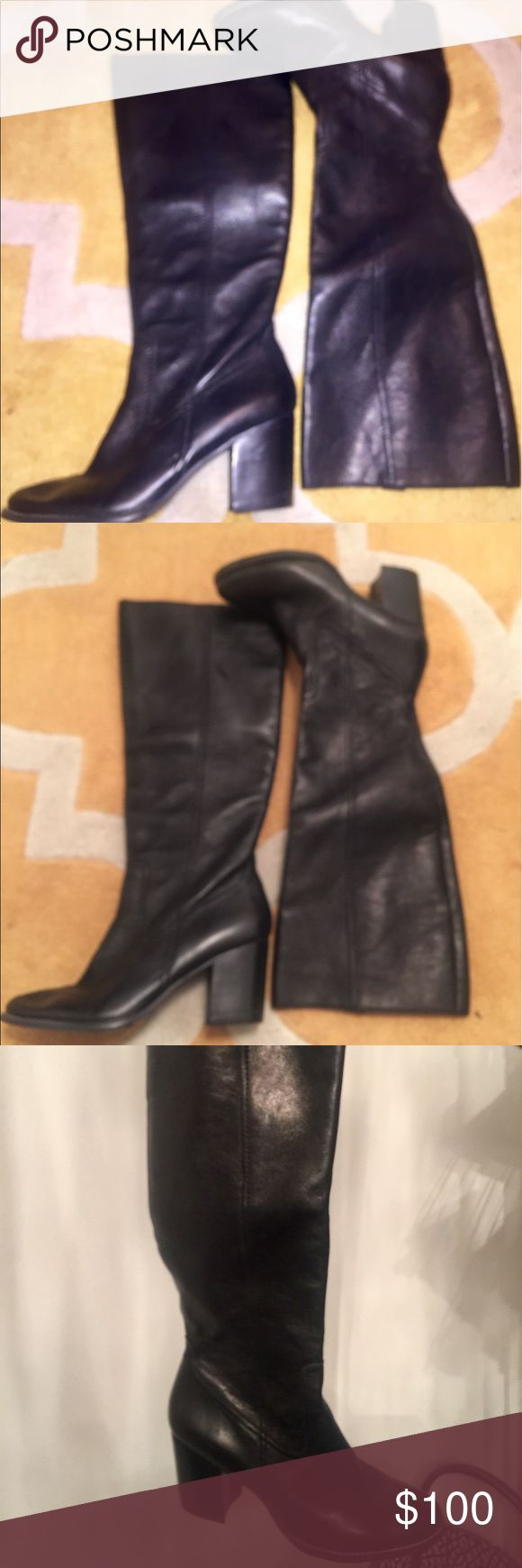 Joan & David Riding Boot Joan & David Riding Boot/Worn Once Joan & David Shoes Over the Knee Boots