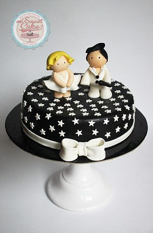 misweetcake ♥ Cake Design: Elvis Presley and Marilyn Monroe Cake / Bolo Elvis and Marilyn   https://www.facebook.com/misweetcakedesign/ https://www.instagram.com/misweetcake/