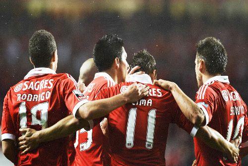 Rodrigo, Limda, Salvio, Enzo Perez. SL Benfica