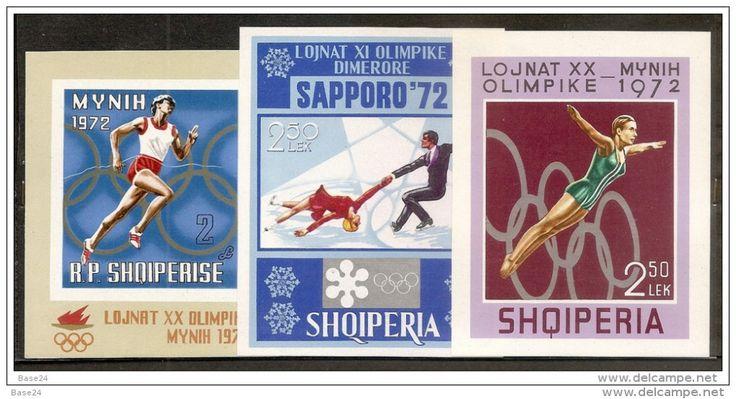 Albanie, JO d'Hiver de Sapporo,1972