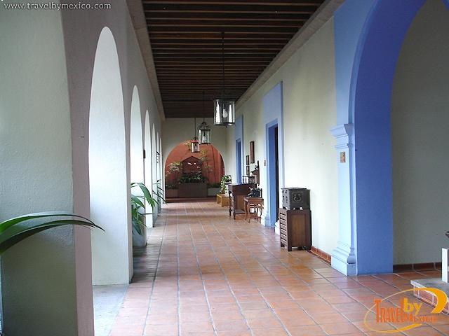 Famed Mexican artist Alejandro Rangel Hidalgo lived in this hacienda in Colima