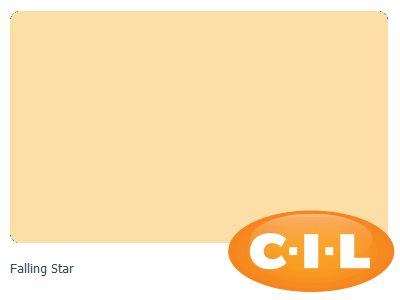 CIL paint colour I found at CIL.ca!  It's Falling Star 37YY 78/312.