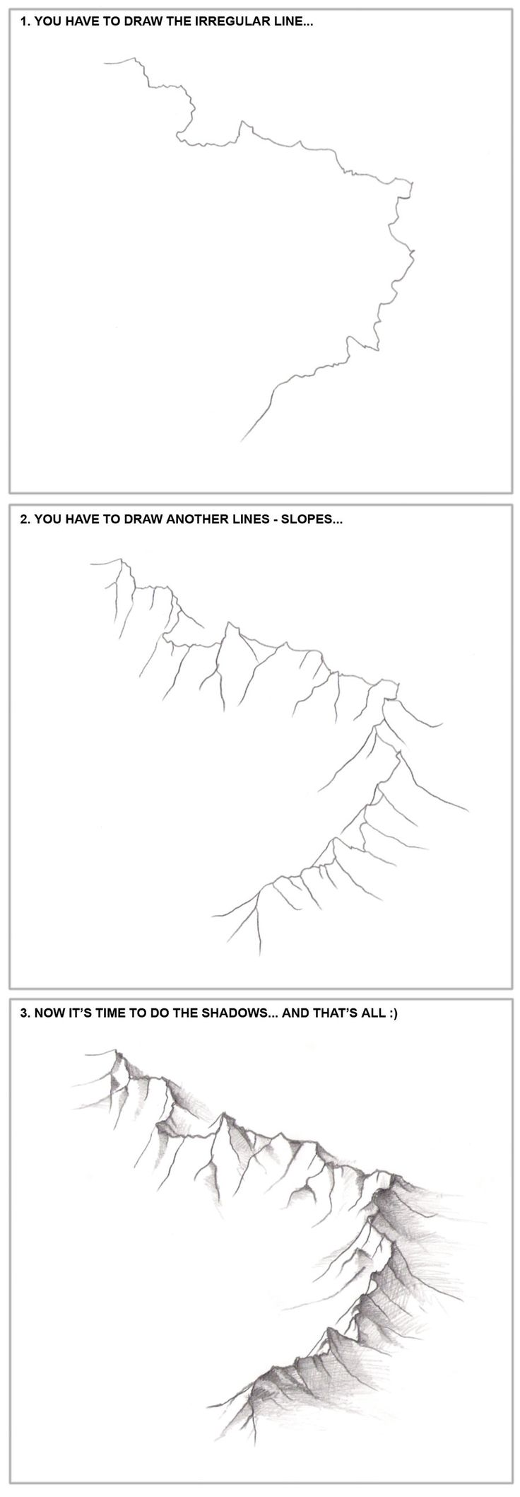 3+steps+-+How+to+draw+the+mountains...+by+fragless.deviantart.com+on+@DeviantArt