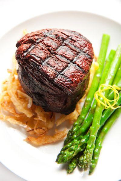 Filet de boeuf aux asperges poêlées - #Beef #LBQ #BoeufParfait