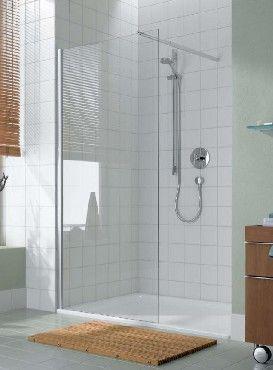 Ścianka prysznicowa Kermi Atea 100 szkło czyste (AT TWF 100)
