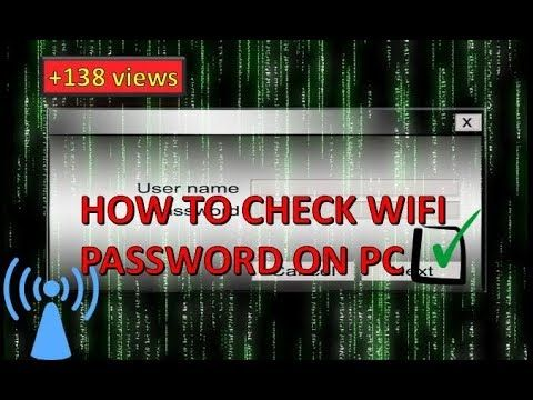 nice #how to check your wifi password on pc -VIDEO