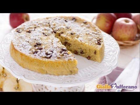 Torta di mele invisibili - YouTube