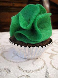 Filz Cupcake