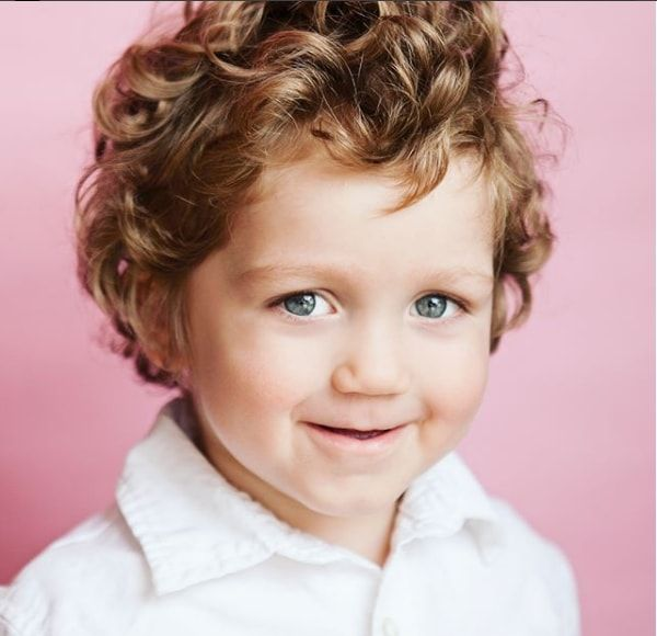 Toddler Boy Curly Hairstyle Toddler Boy Haircuts Boys Haircuts Toddler Haircuts