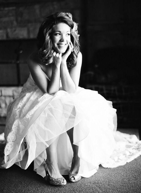 super cute bride!