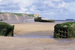 D-Day  - June 6, 1944  -  156,000 Allied troops successfully stormed Normandy's beaches. The invasion began at 6:30am. Within 24 hours, according to some estimates, more than 4,000 Allied troops lost their lives. With thousands more wounded or missing.