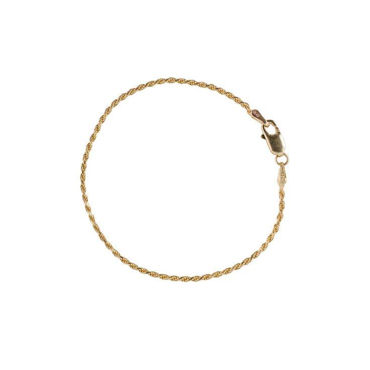 Lasso Bracelet - 10k Yellow Gold