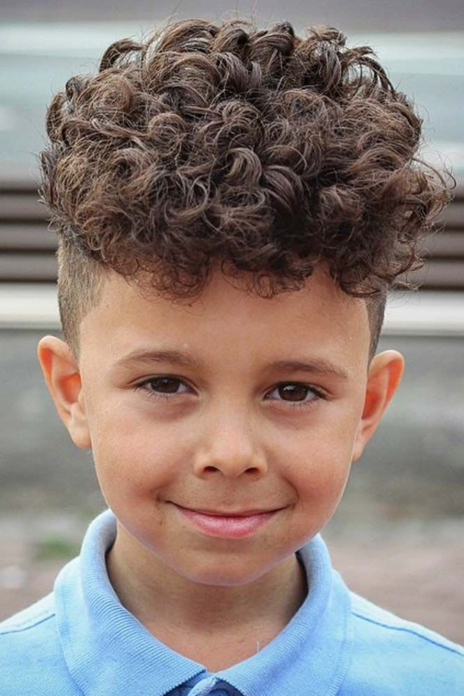20+ Curly hair on top short sides trends