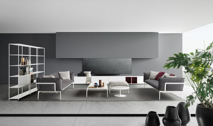 Living room inspiration with the beauty of Italian decor. MDF Italia is a furniture company with semplicity and personality in its Dna.
