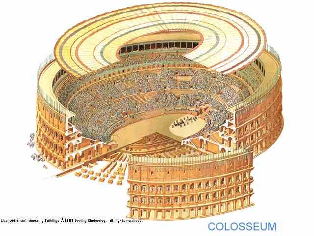 Roman Engineering The Colosseum Part Iii The