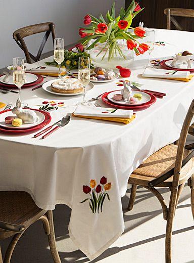 17 meilleures id es propos de tulipes jaunes sur for Decorer sa table de salle a manger