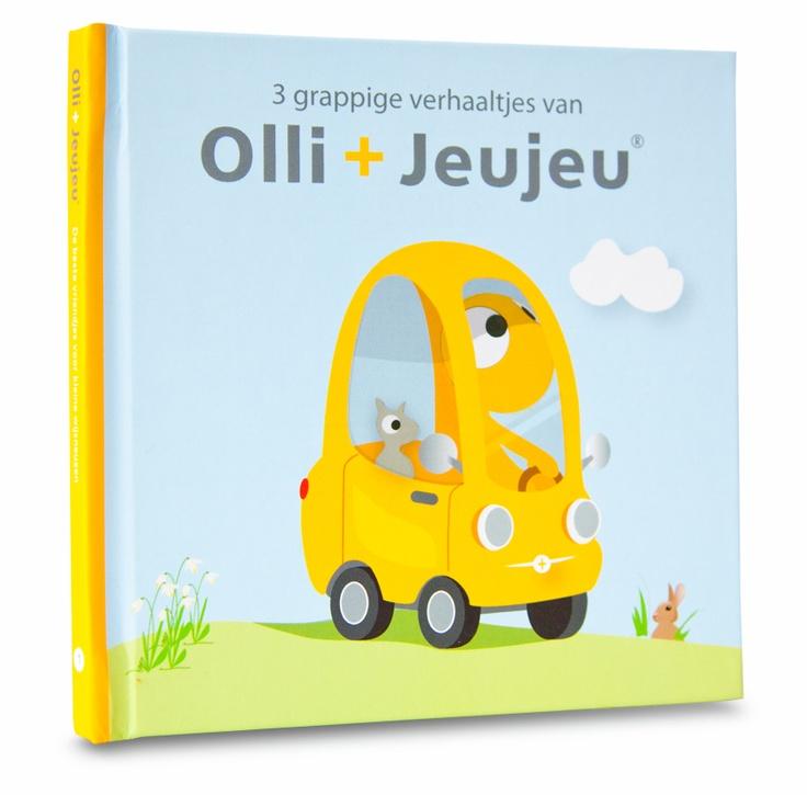 Our first stories in a little booklet! - Het eerste Olli en Jeujeu prentenboekje - www.ollienjeujeu.nl
