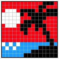 Color Link-a-Pix - step 7