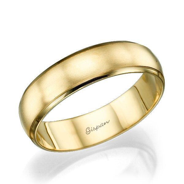 Venda de la boda, hombres boda banda, anillo boda, anillo para hombre, mate anillo, anillo oro, anillo de 14k, anillo de bodas para él, anillo de oro amarillo, anillo de la venda de Gispandesigns en Etsy https://www.etsy.com/es/listing/265646468/venda-de-la-boda-hombres-boda-banda