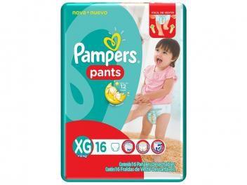 Fralda Pampers Pants XG - 16 Unidades