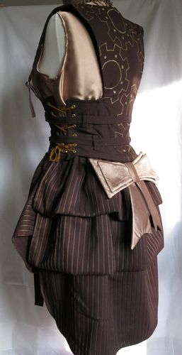 Bustle and Gears Corset/Vest: Pirate'S Steampunk, Fitzsimmons Support, Culture Woman, Chocolates Bustle, Bustle Skirts, Handsome Steampunk, Steam Punkeri