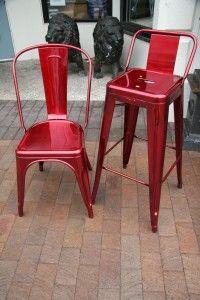 Tolix Tabouret Stool with Short Back - & 53 best My Tolix u0027problemu0027 images on Pinterest | Chairs Cafe ... islam-shia.org