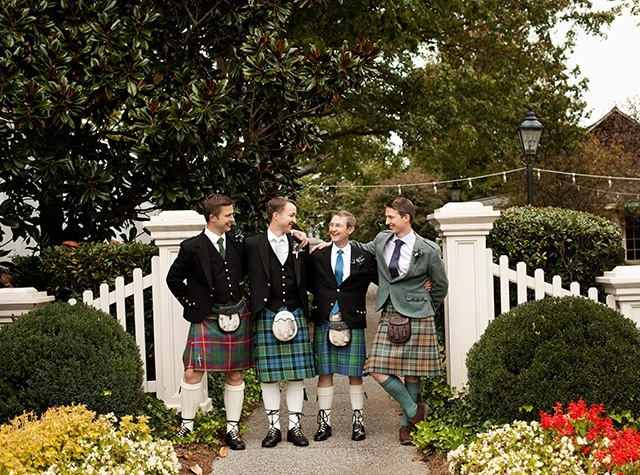 nashville wedding, governors club wedding, groomsmen in kilts, nyk cali ashton photography, @Nyk Huber, #nashvilleweddings, #outdoornashvillewedding