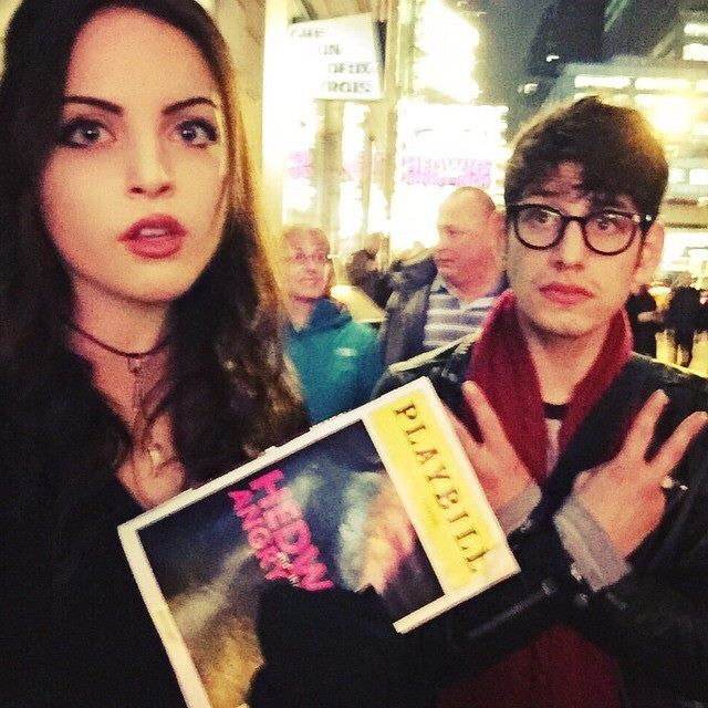 Are Liz Gillies And Matt Bennett Hookup