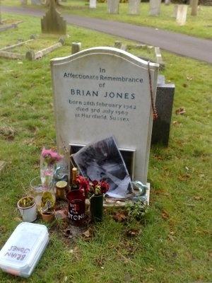Brian Jones guitarist for the Rolling Stones