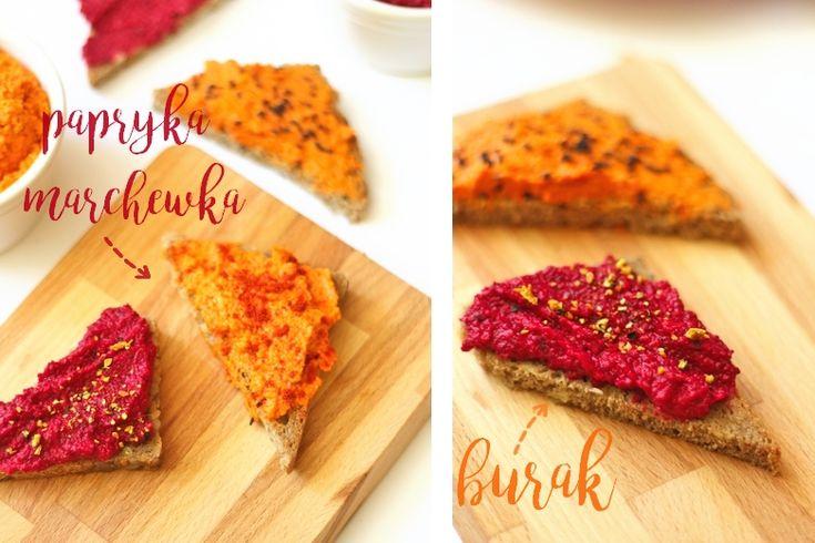 Co do chleba? 2 pomysły na zdrowe pasty kanapkowe.