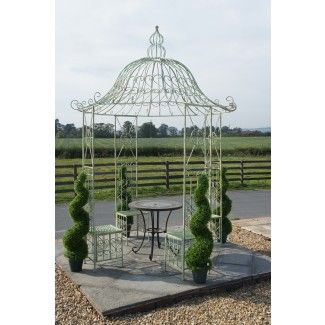 Metal Gazebos, Wrought Iron Gazebos http://gazebokings.com/luxury-metal-framed-garden-party-gazebos/ http://gazebokings.com/