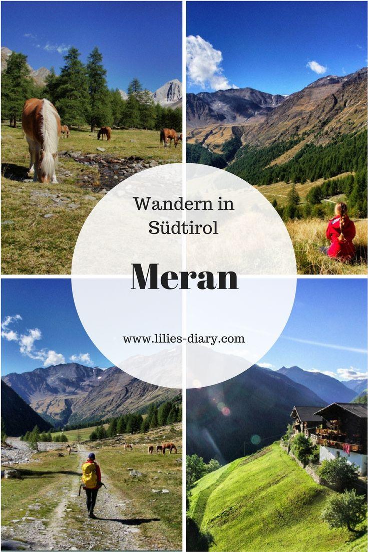 Der schönste Wanderweg ist der Meraner Höhenweg in Südtirol....