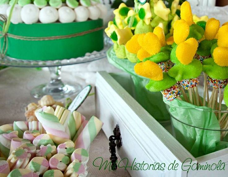 6th wedding anniversary gift ideas candy table verde